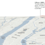US Airways Flight 1549 - Tracked by The New York Times