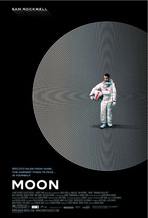 Moon Movie Poster - Sam Rockwell