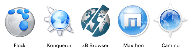 New Web Browser Logos
