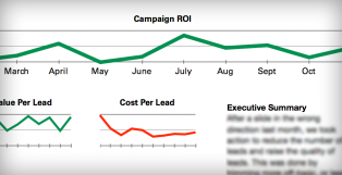 Charts and Narratives ROI Reporting