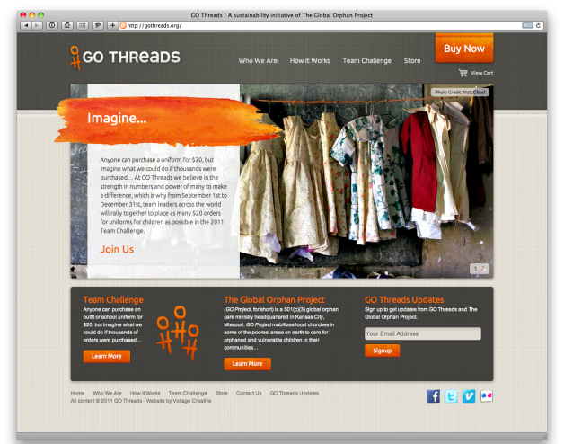 GO Threads by The Global Orphan Project