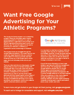 Google Ad Grant Program Overview