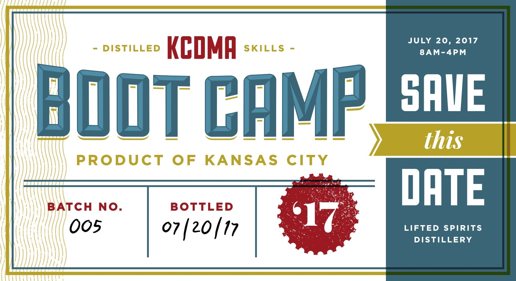 Bootcamp save the date
