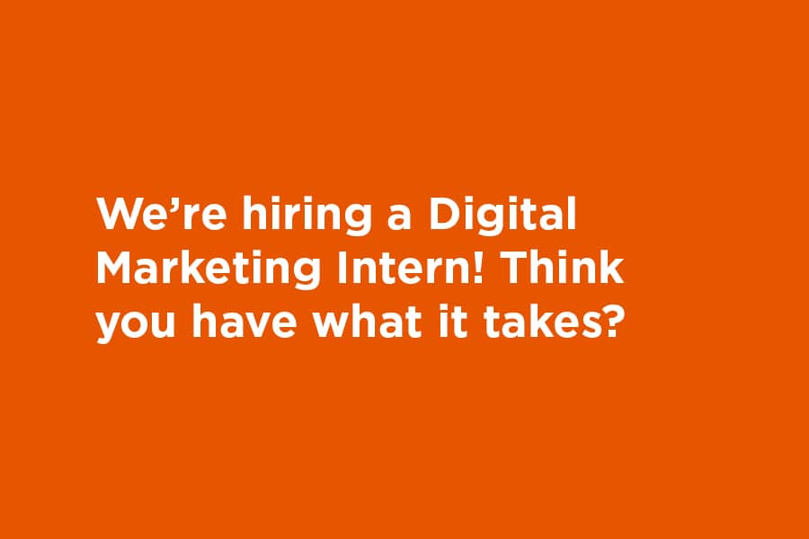 Intern hiring graphic