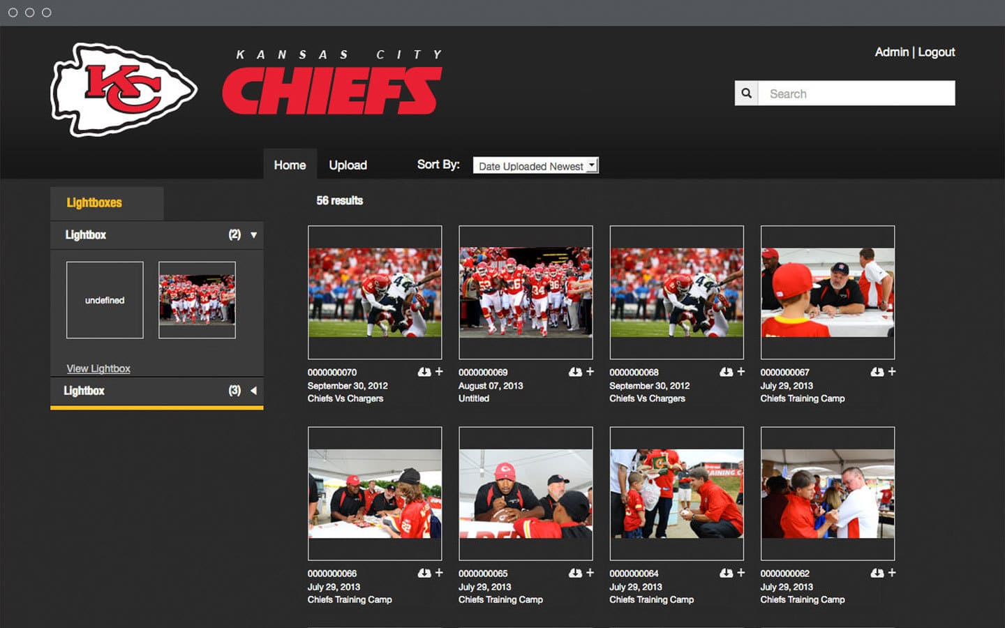 KC Chiefs image database