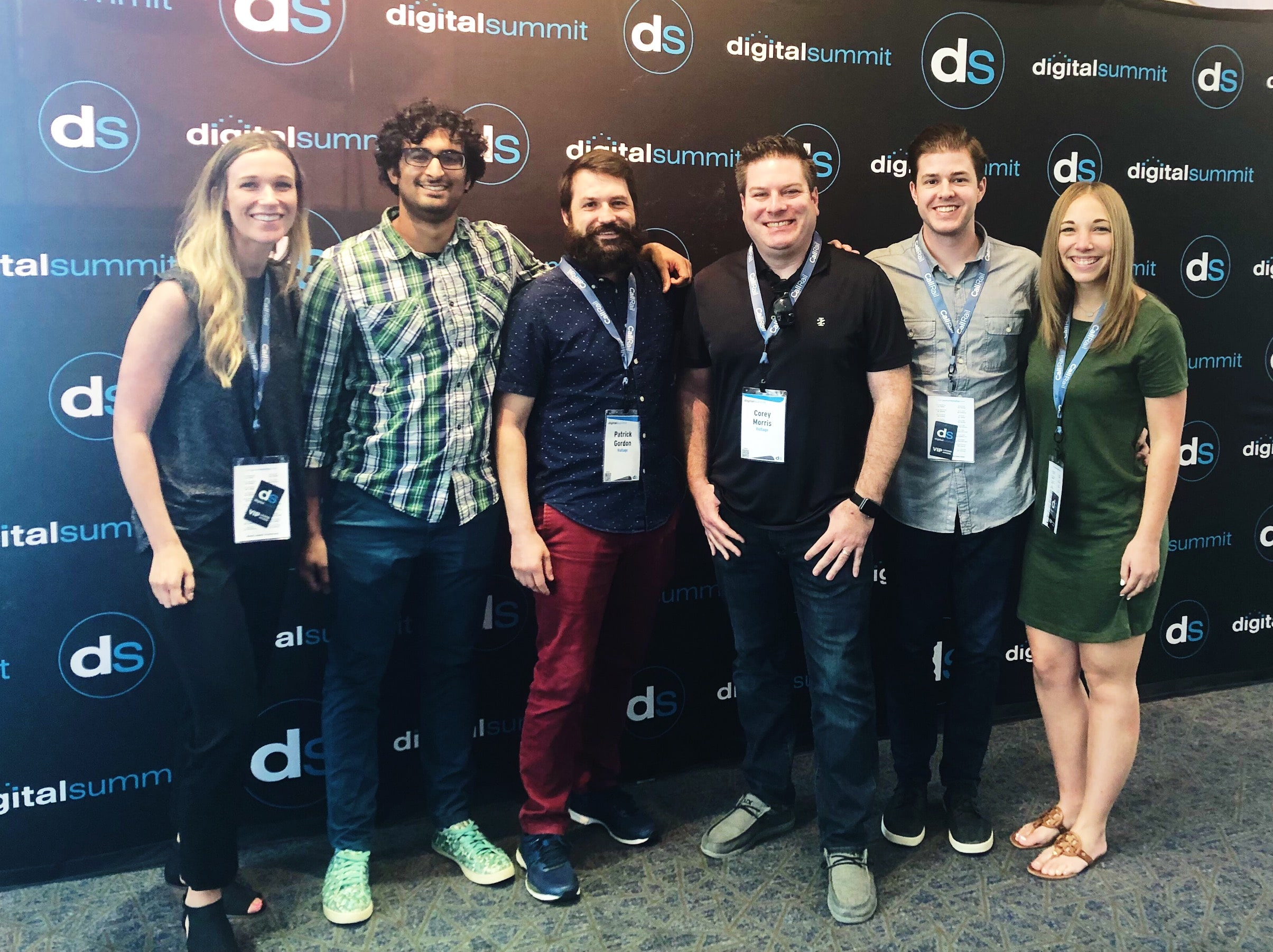 Voltage team at Digital Summit