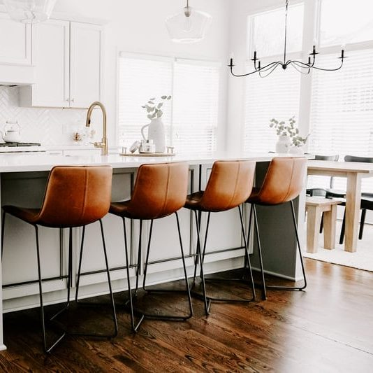 Photo of remodeled kitchen
